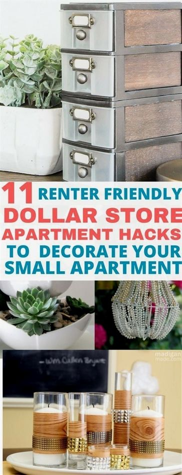 Apartment Hacks Rental Storage