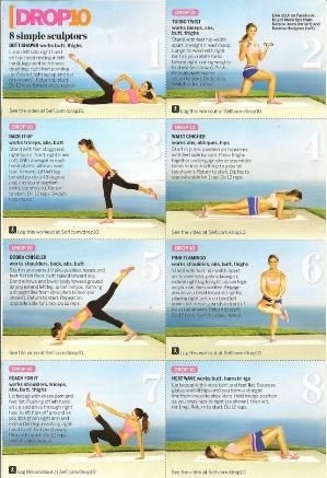 Drop 10 exercises from the Tone it Up girls! by mavrica