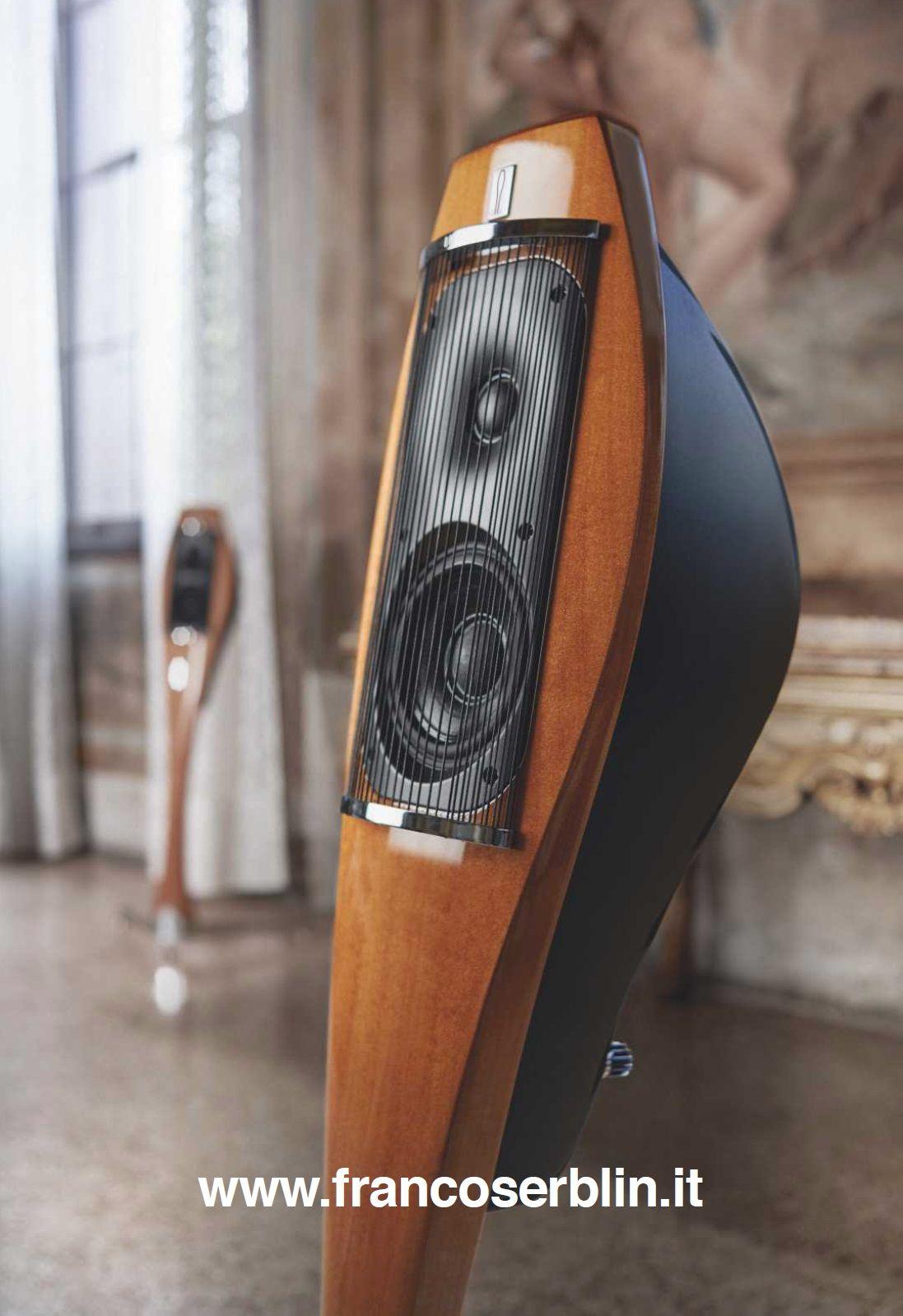Cajas Acústicas, diseño de Franco Serblin