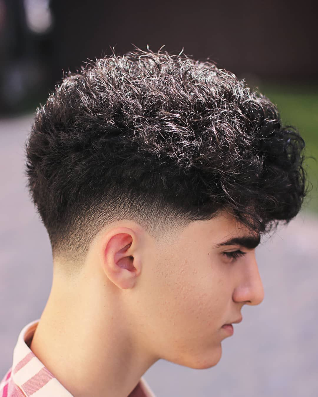 22 Drop Fade Haircuts For 2020 Cool Ways To Get The Look In 2020 Fade Haircut Drop Fade Haircut Curly Hair Fade