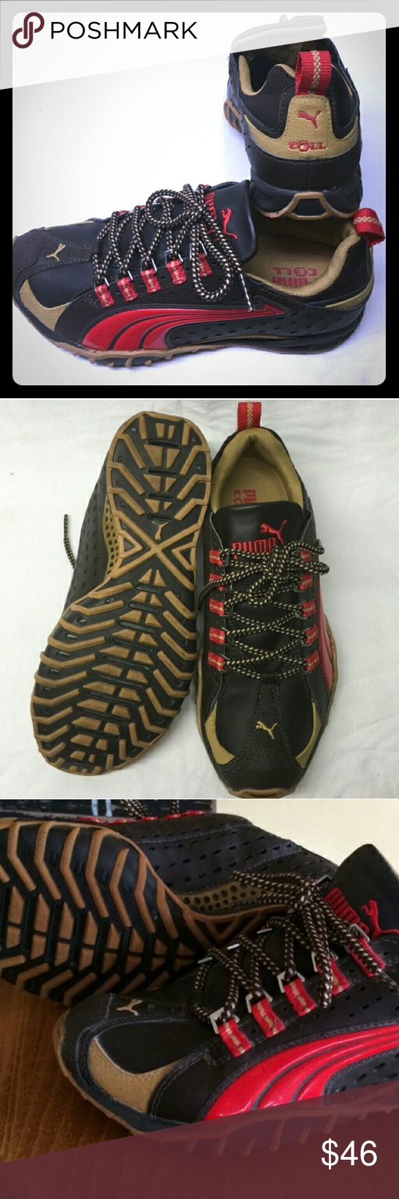 4f14b688a1cd Puma Cell Alpine Trail Racer Designed with an aggressive low-profile  midsole outsole combo