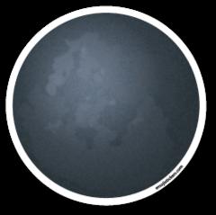 New Moon Symbol Emojistickers Com Moon Symbols Moon Emoji Emoji Stickers