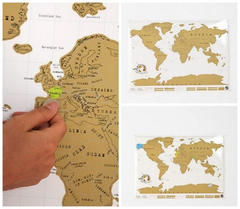 Cool grad gift idea scratch off world map grad gift ideas cool grad gift idea scratch off world map gumiabroncs Choice Image