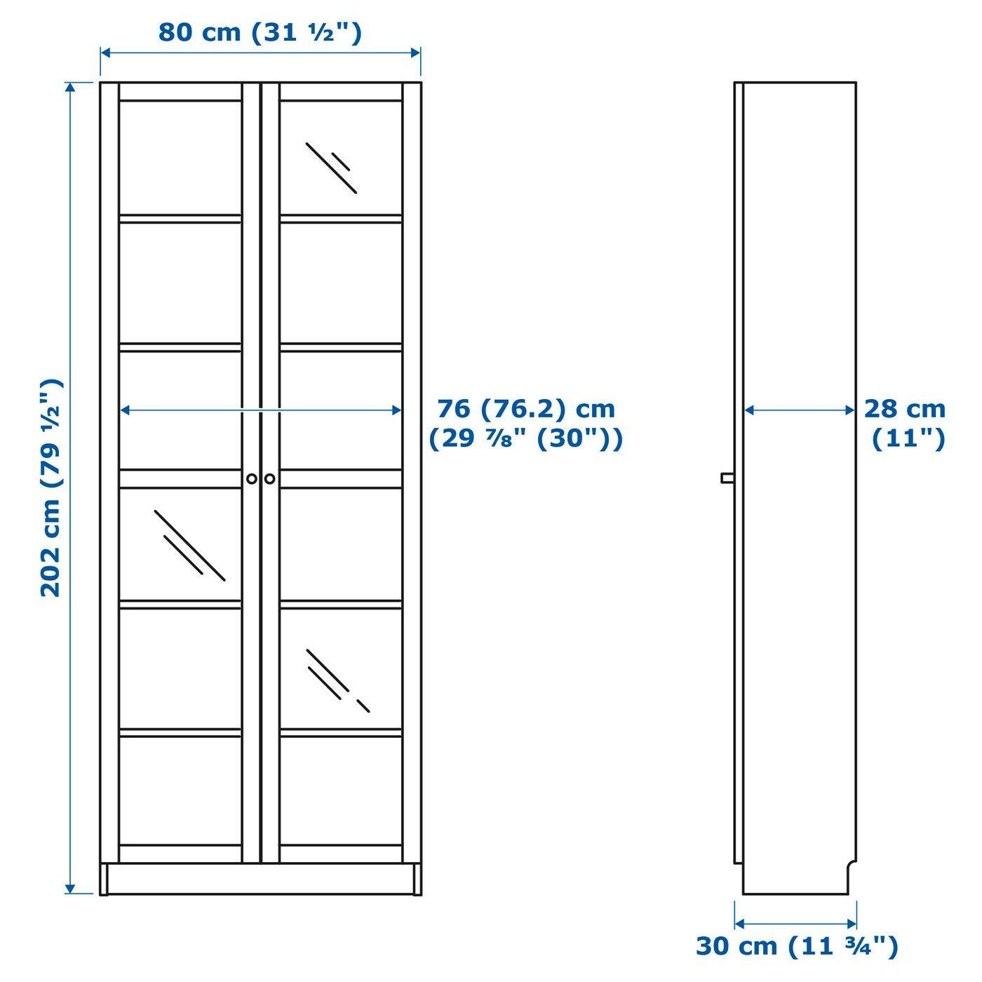 Ikea Billy Oxberg Bucherregal Weiss In 2020 Bucherschrank Mit Glasturen Billy Bucherregal Glasschrankturen