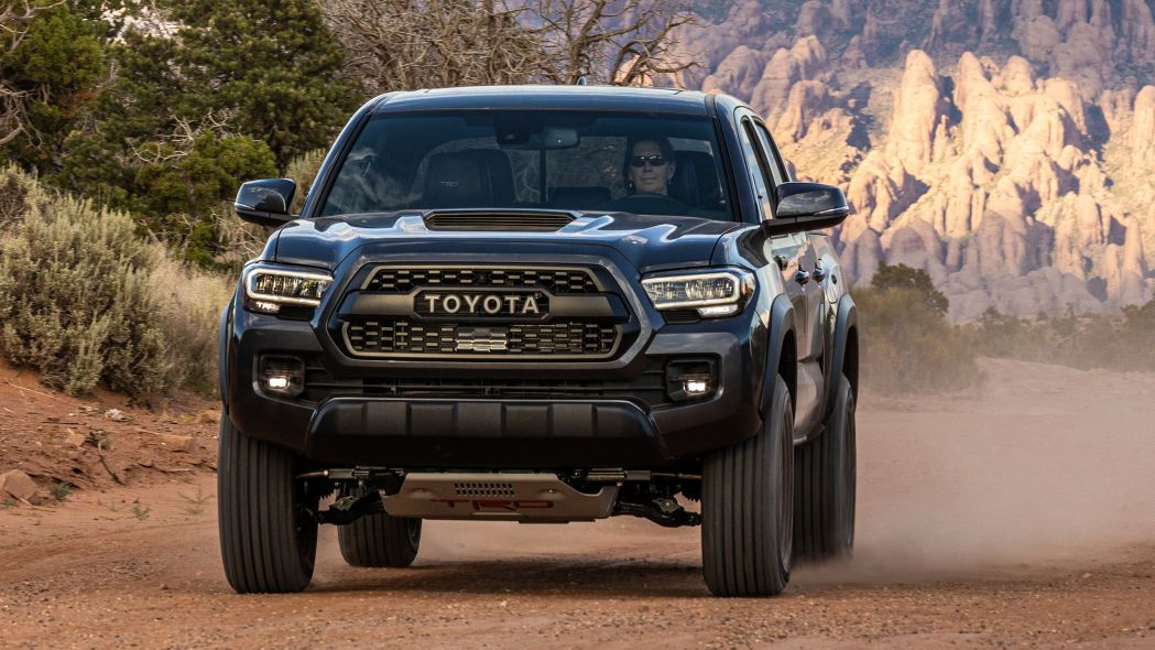 2020 Toyota Tacoma Driving Review Offroad At Moab Toyota Tacoma Toyota Toyota Tacoma Trd