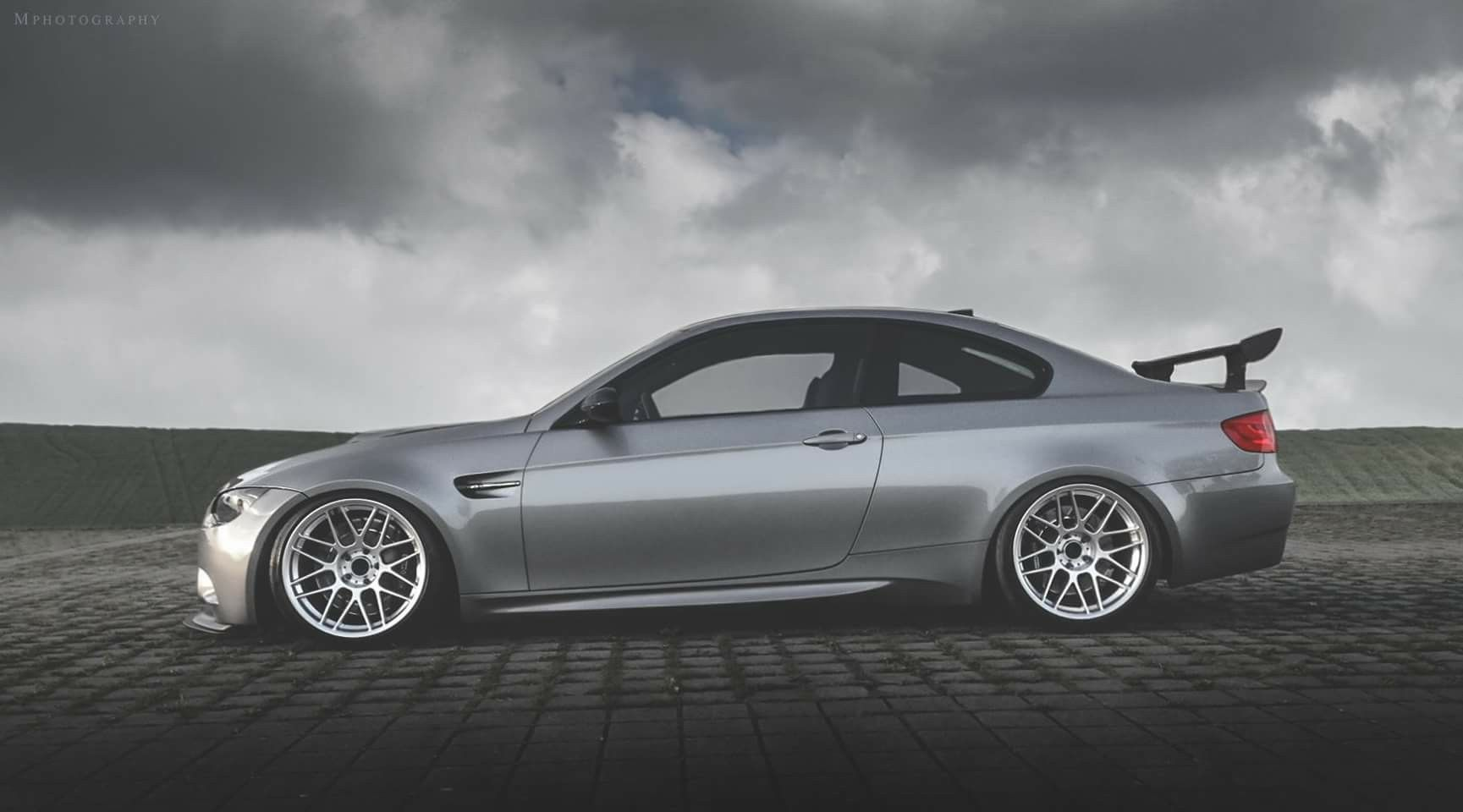 Bmw E92 M3 Grey Apex Wheels With Images Bmw Lowrider Cars