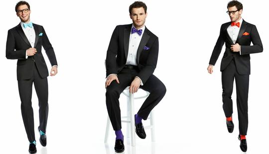 Gatsby Style for Men- Colorful Tuxedo Socks-Accessories - Gatsby Style For Men- Colorful Tuxedo Socks-Accessories Winter