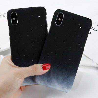 For iPhone XR XS MAX 8 6 7 Plus Shockproof Sky Cute Pattern Hard Back Case Cover  | eBay