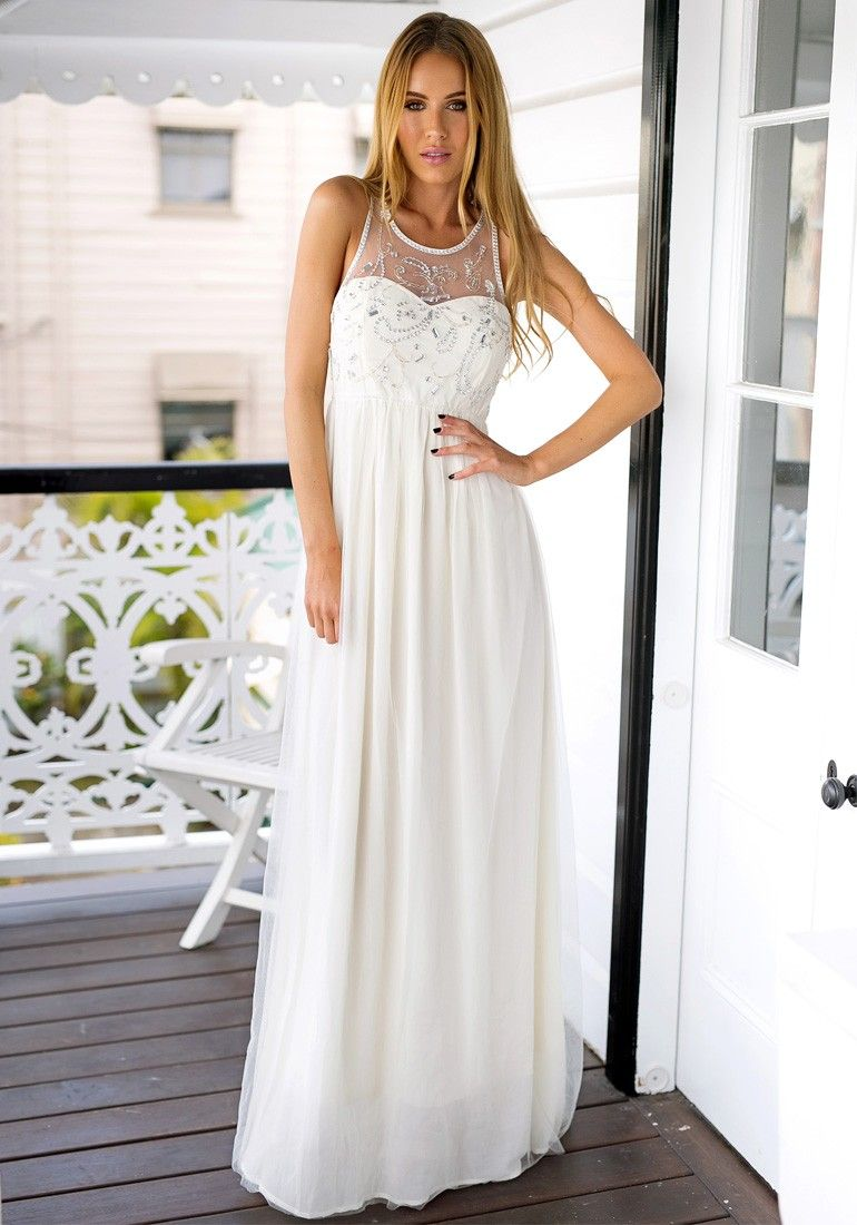Sequinned dress etc pinterest beige prom and clothes