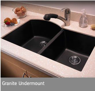 Attractive Swanstone Granite Undermount Sinks