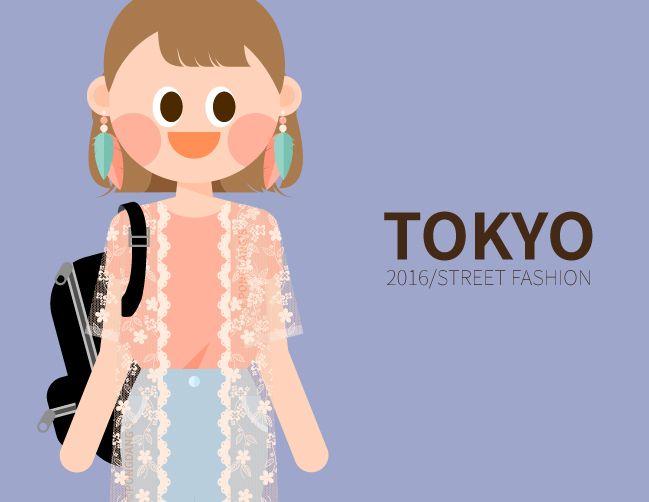 내 @Behance 프로젝트 확인: \u201c2016 TOKYO girl's fashion in S/S\u201d https://www.behance.net/gallery/41083713/2016-TOKYO-girls-fashion-in-SS