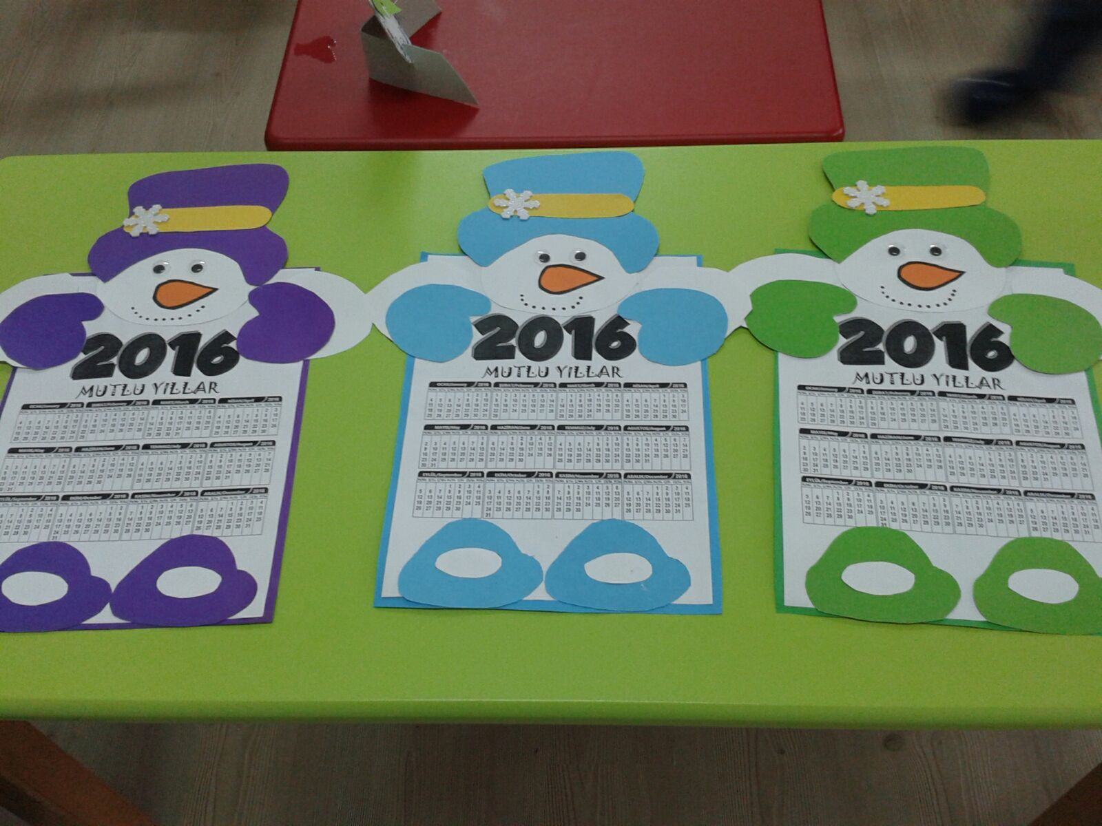 Calender craft idea for kids | Crafts and Worksheets for Preschool ...