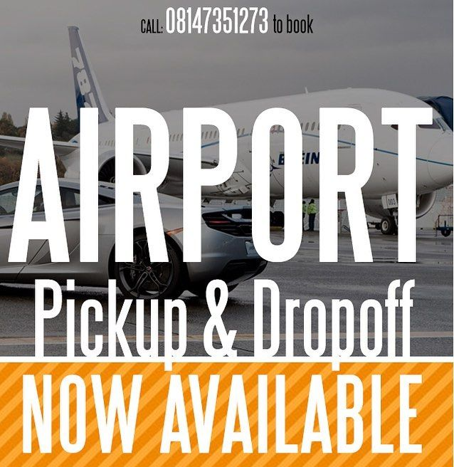 Do Not Miss Your Flight. Call 08147351273 For 5am Early Morning Airport Drop off. You'd thank me later #PYBNAIJA