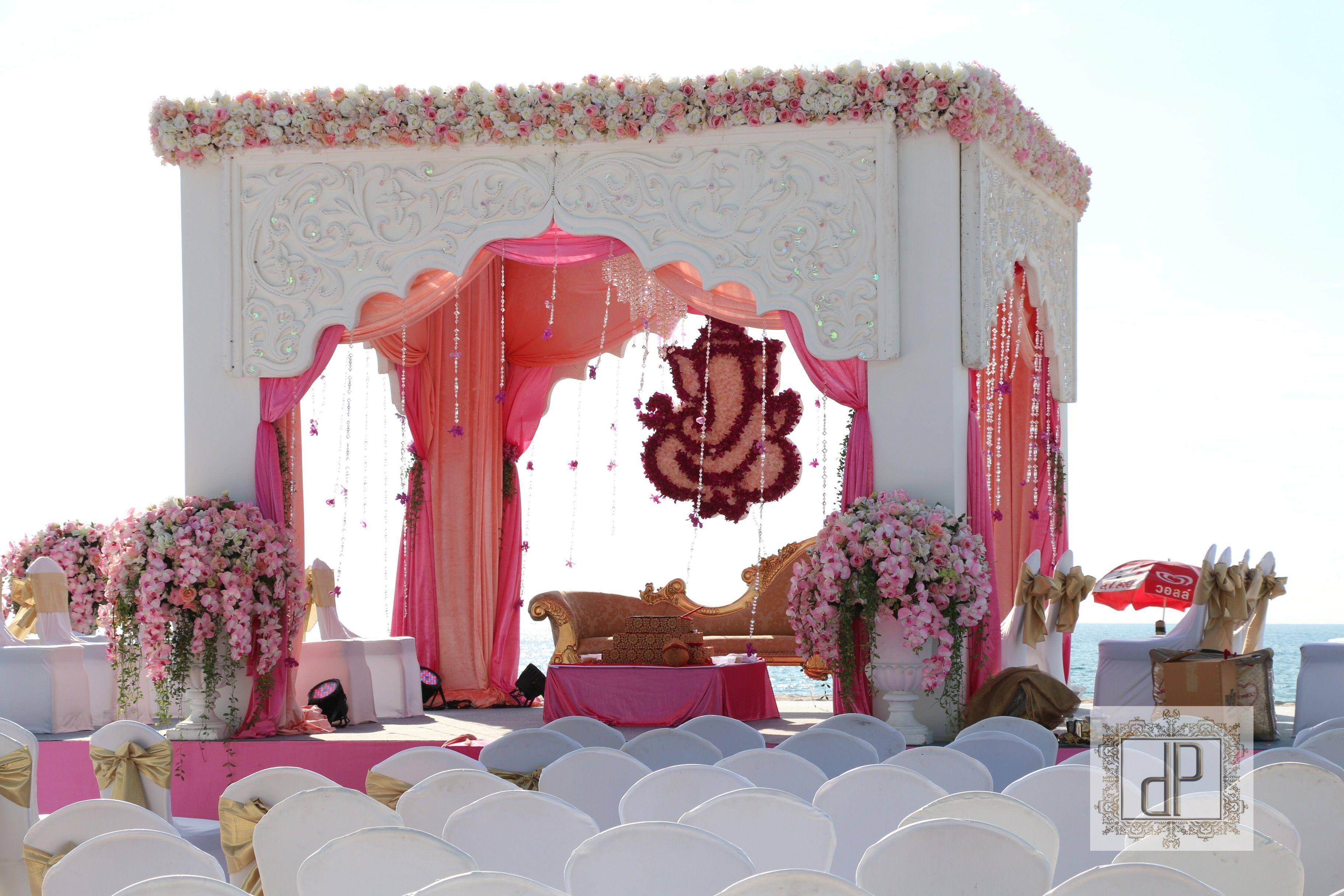 Wedding mandap decoration images  Sweet mandap wedding  Mandap decor  Pinterest  Weddings