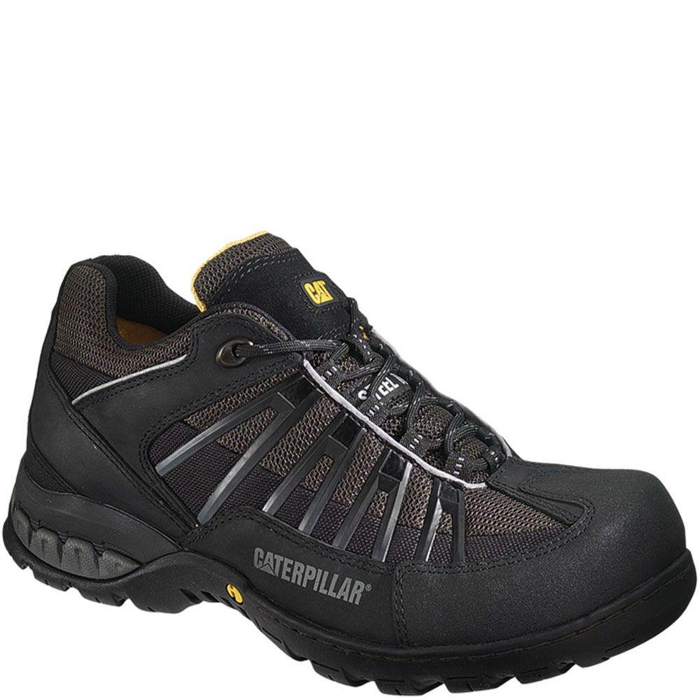 90152 Caterpillar Men S Kaufman Safety Shoes Black