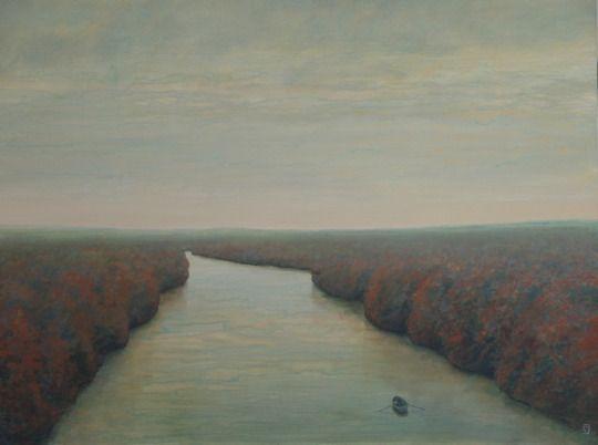 Le Fleuve- Philippe Charles Jacquet