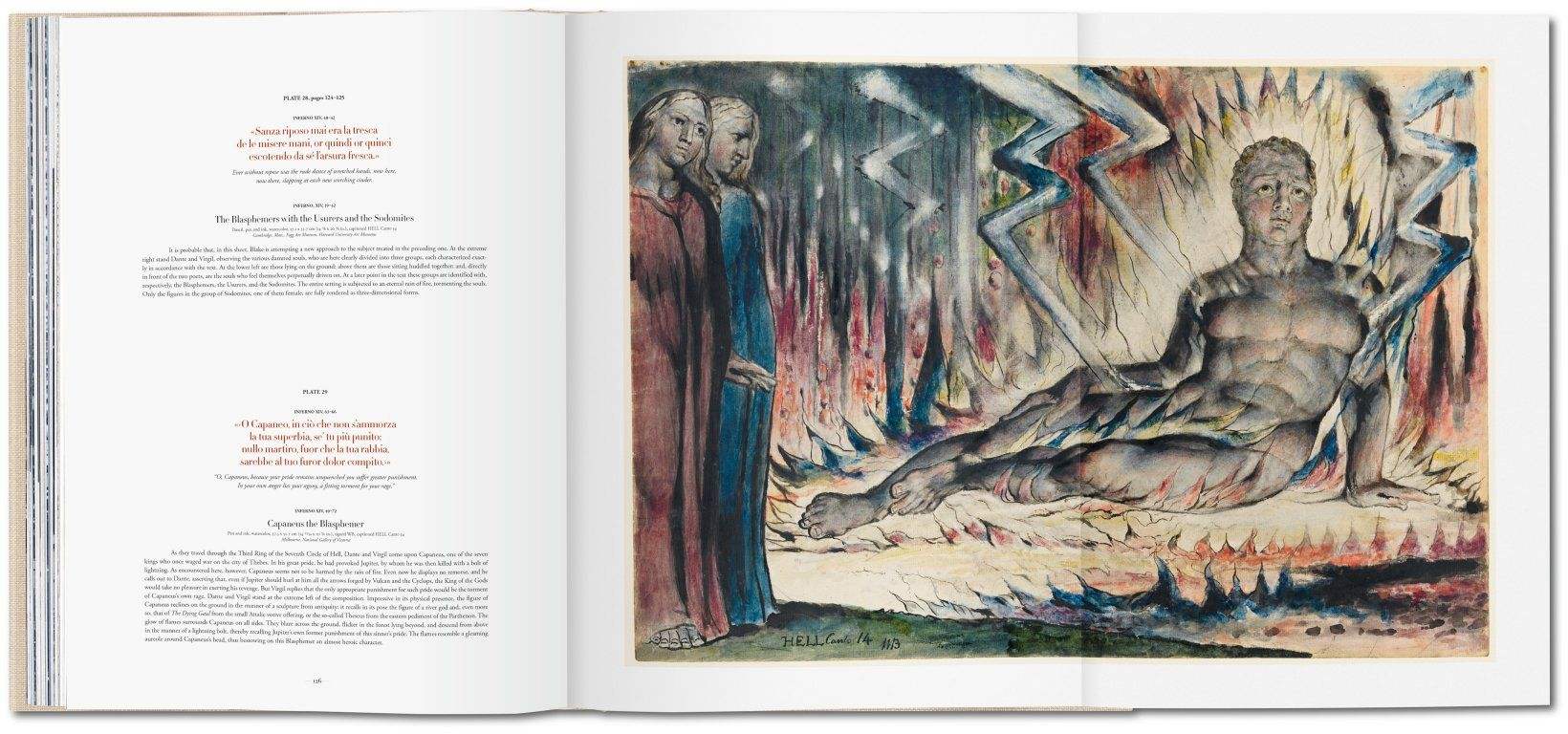 William Blake. The drawings for Dante's Divine Comedy. TASCHEN Books