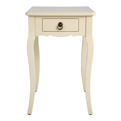 Attractive Feminine And Curvy, Our Exclusive Louis XV Side Table Is A Real Knockout. In
