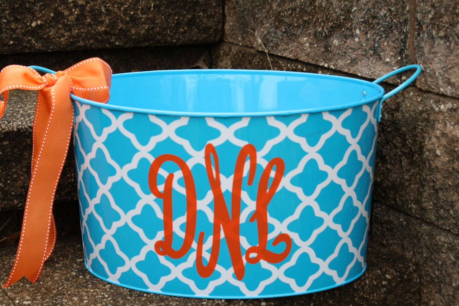 Personalized Metal Tub/ Ice Bucket - Party Beverage Tub ...