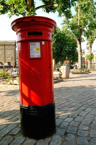 Our post boxes are super cool!