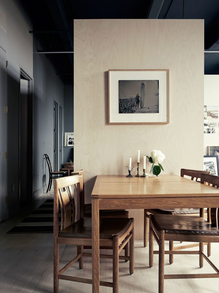 Pia Ulin\u0027s brooklyn home Interiors, Room and Kitchen dining