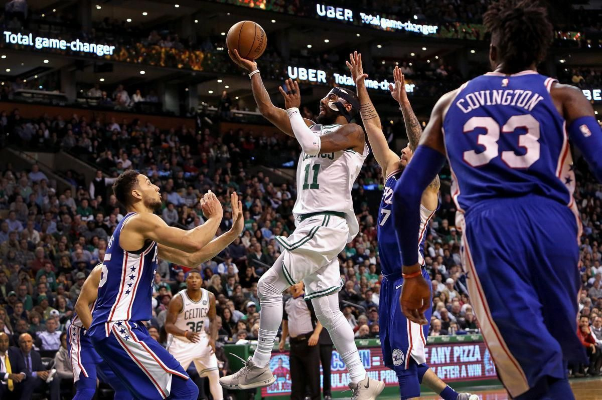 The 76ers rested their star, but Celtics turned theirs