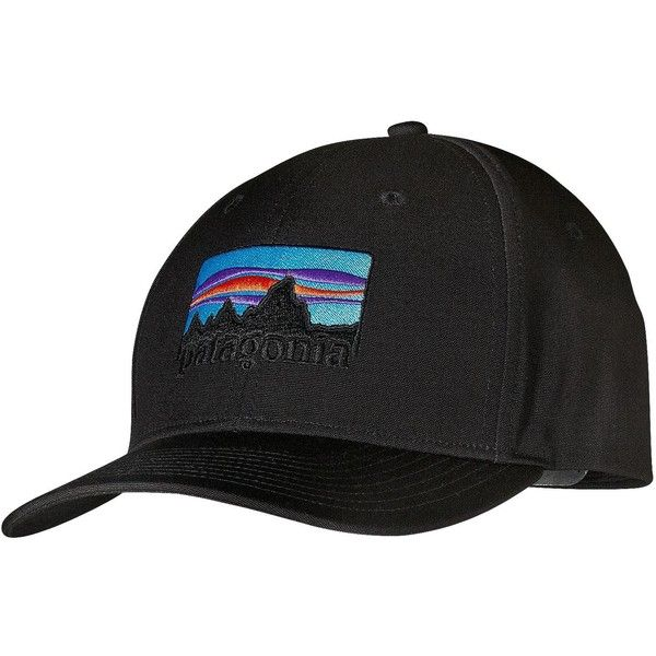859e6c7584c Patagonia 73 Logo Roger That Hat (36 NZD) ❤ liked on Polyvore featuring  accessories