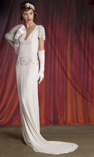 mi wedding diario: vestidos de novia de estilo gran gatsby