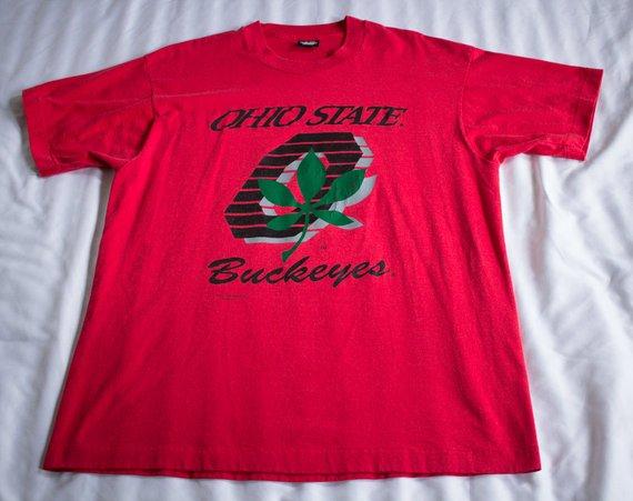 99692926d1fb Vintage T Shirt Ohio State Buckeyes t shirt Size XL Big Ten BCS National  Champs Scarlet