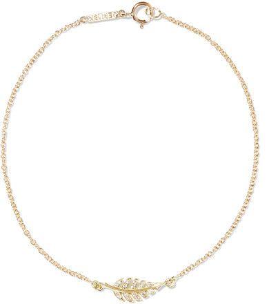 18-karat Gold Diamond Bangle - one size Jennifer Meyer C9oqTtqF3c