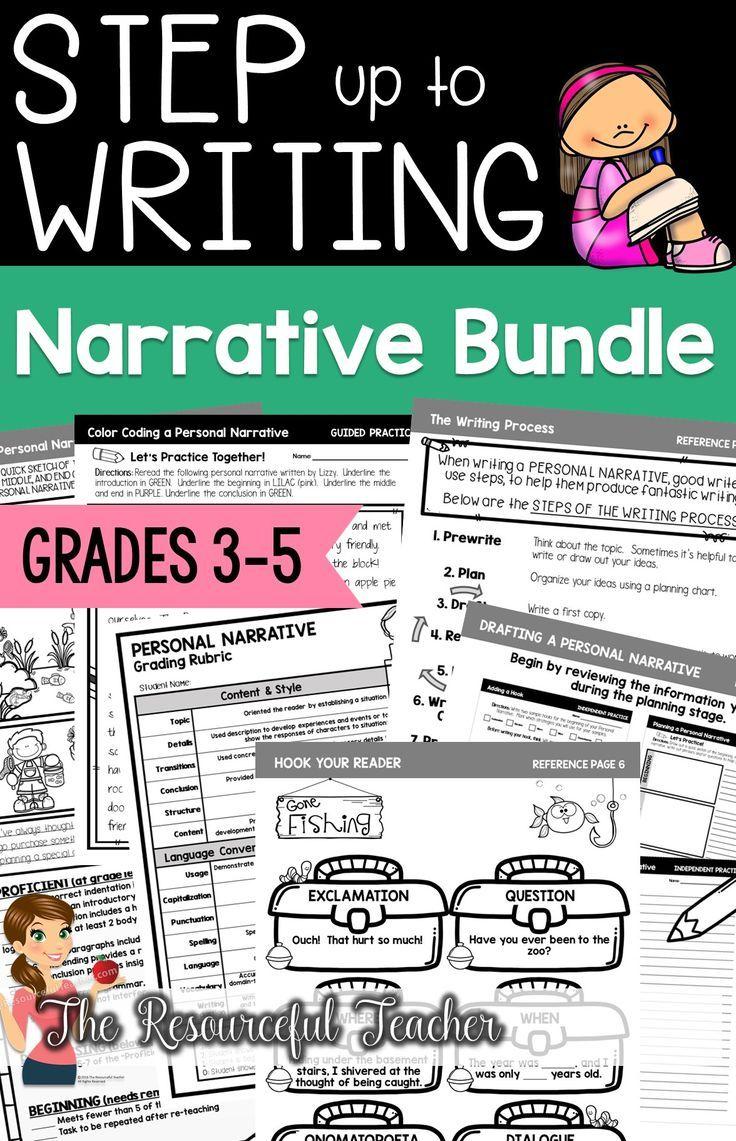 Step Up To Writing Inspired Narrative Writing Bundle