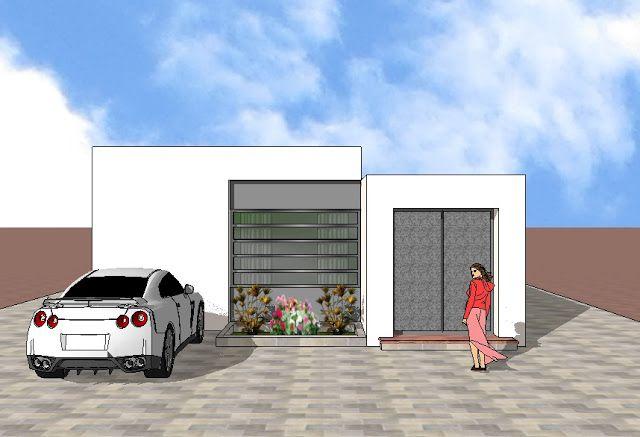 Fachadas y Casas Excelentes diseños de fachadas para casas de una