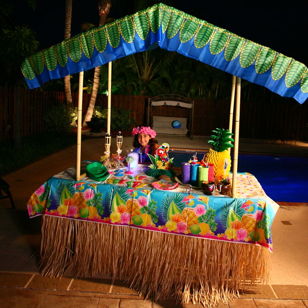 Cheap tiki bar decorations tiki bar decoration ideas for Hawaiin decorations