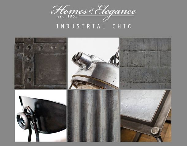 Industrial Chic > http://www.homesofelegance.co.uk/furniture/industrial-chic.html