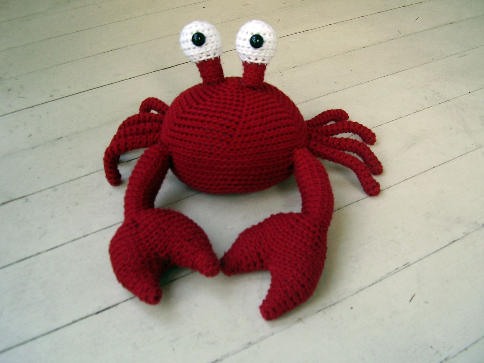Ravelry: freshstitches' He's a little crabby!