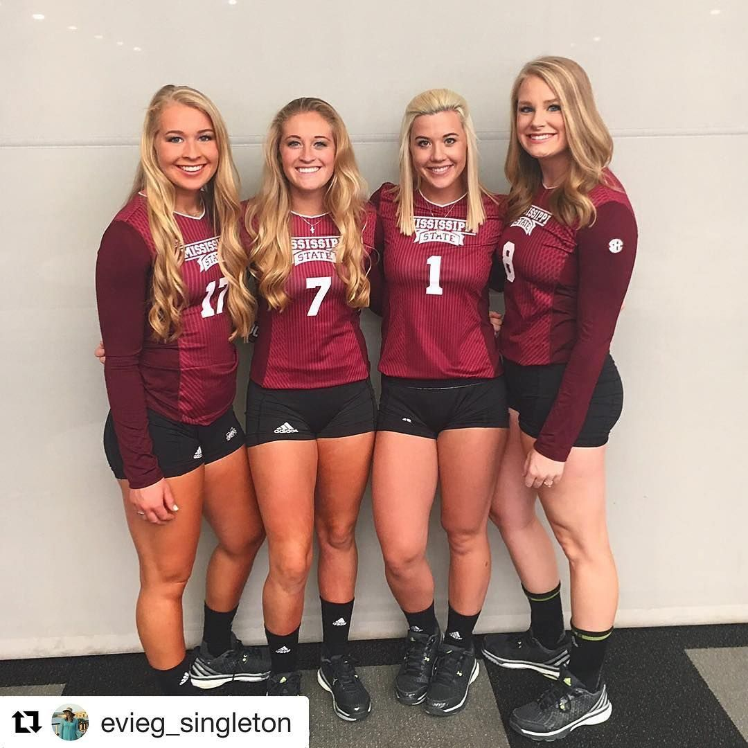 See This Instagram Photo By Hailstatevb 262 Likes Volleyball Hail State Junior Year