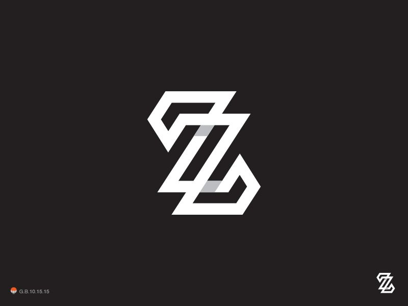 logo design zz by george bokhua on driiblecom logo design