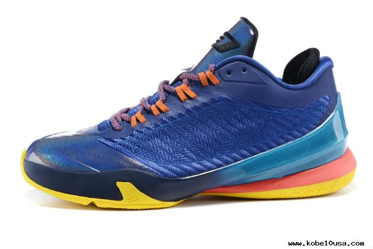 cheap for discount watch popular brand JORDAN CP3 VIII CHRIS PAUL Blue/Yellow | Jordans for men, Air ...