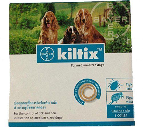 Kiltix Tick Collar For Dogs 5 Month Long Life Flea Dog Collar Size Dogs Ticks On Dogs