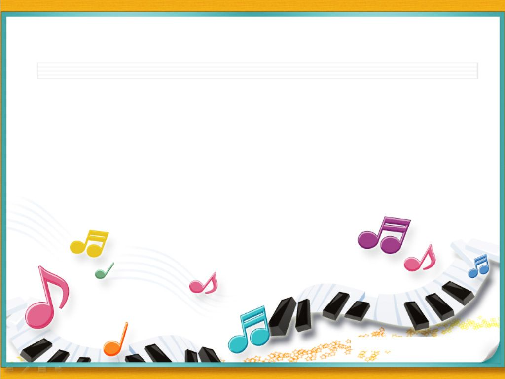Piano music notes with frames ppt backgrounds, Piano music ...