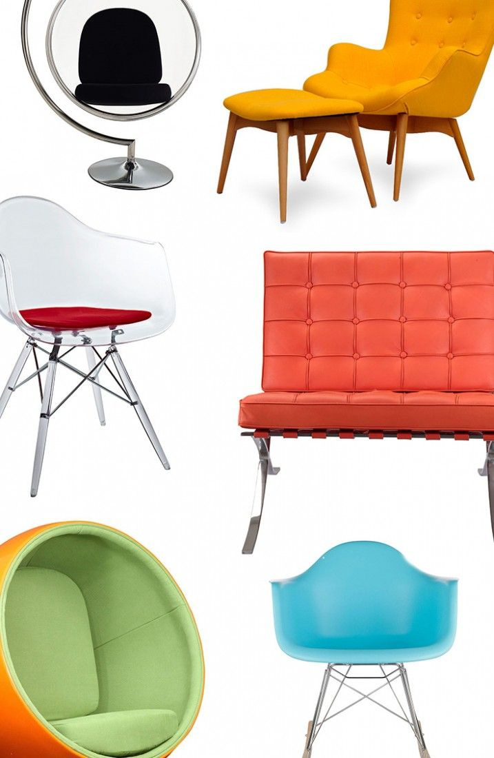 Mid-Century modern design married form and function with an ...