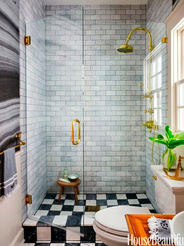 40 ideas para decorar tu baño con azulejos   Cuartos de ...