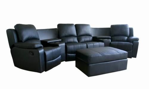8802 New Theater Seating Recliner Movie Chairs 4 Seats Wholesale Interiors Leather Bean Bag Chair Home