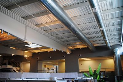 Love The Look Of Exposed Ductwork Plumbing Projects
