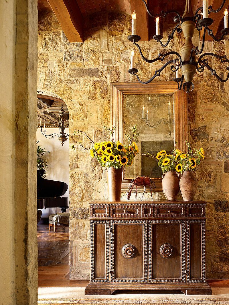 Mediterranean Entry Ideas: An Air of Timeless Majesty! | Stone walls ...