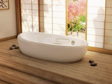 Hereu0027s Our @BainUltra Essencia Theater Stage #Tub. The Actual #bathtub Is  Set