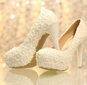Kasut Pengantin Perempuan Wedding Shoes Bridal Shoes 21 Gambar Mode Bunga Gambar