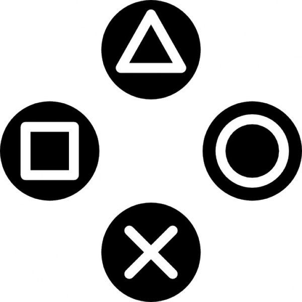 Patrick Myles On Twitter Playstation Logo Button Game Free Icons