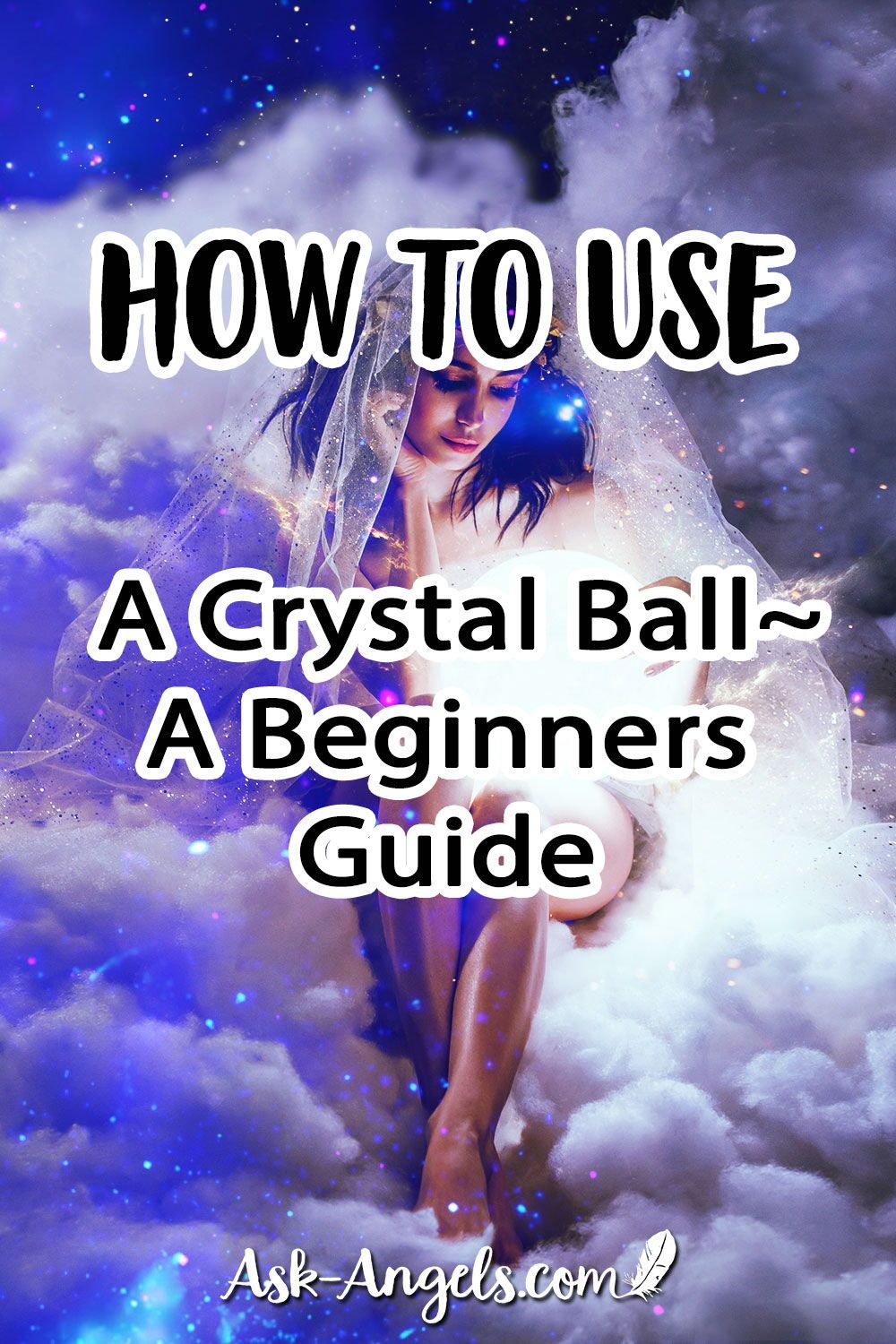 Ever want to learn how to use a crystal ball (it's a skill that's officially called scrying)? Read my beginners guide to get started. #crystal #crystalball