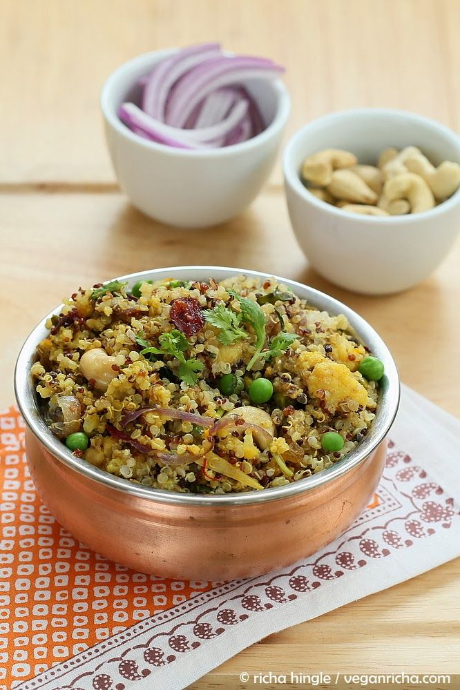 Quinoa Cauliflower Biryani Vegan Glutenfree Recipe Biryani